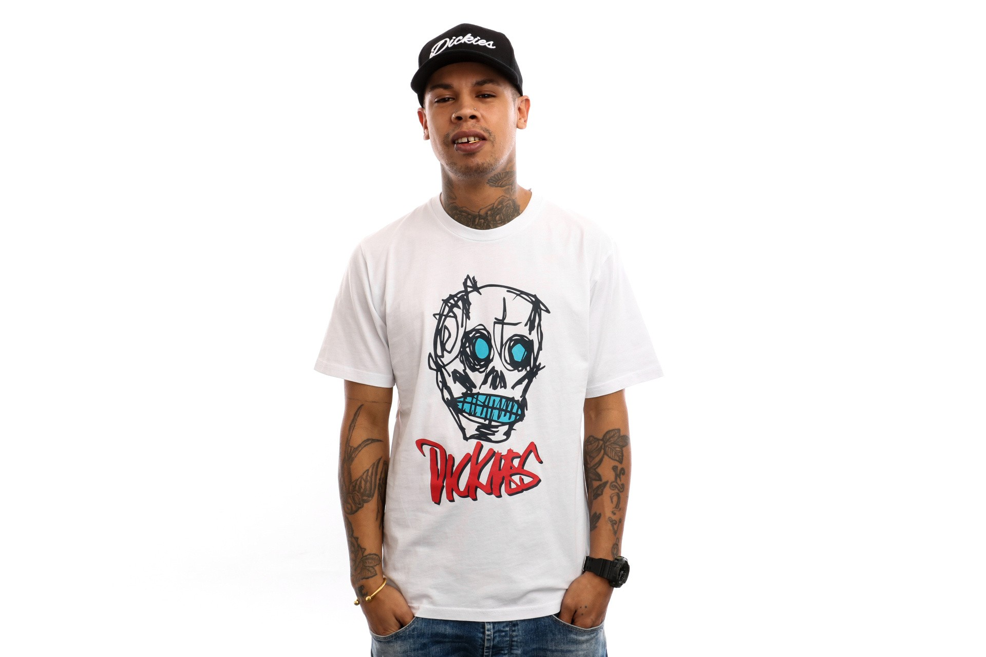 Foto van Dickies East Homer 06 210626 T Shirt White
