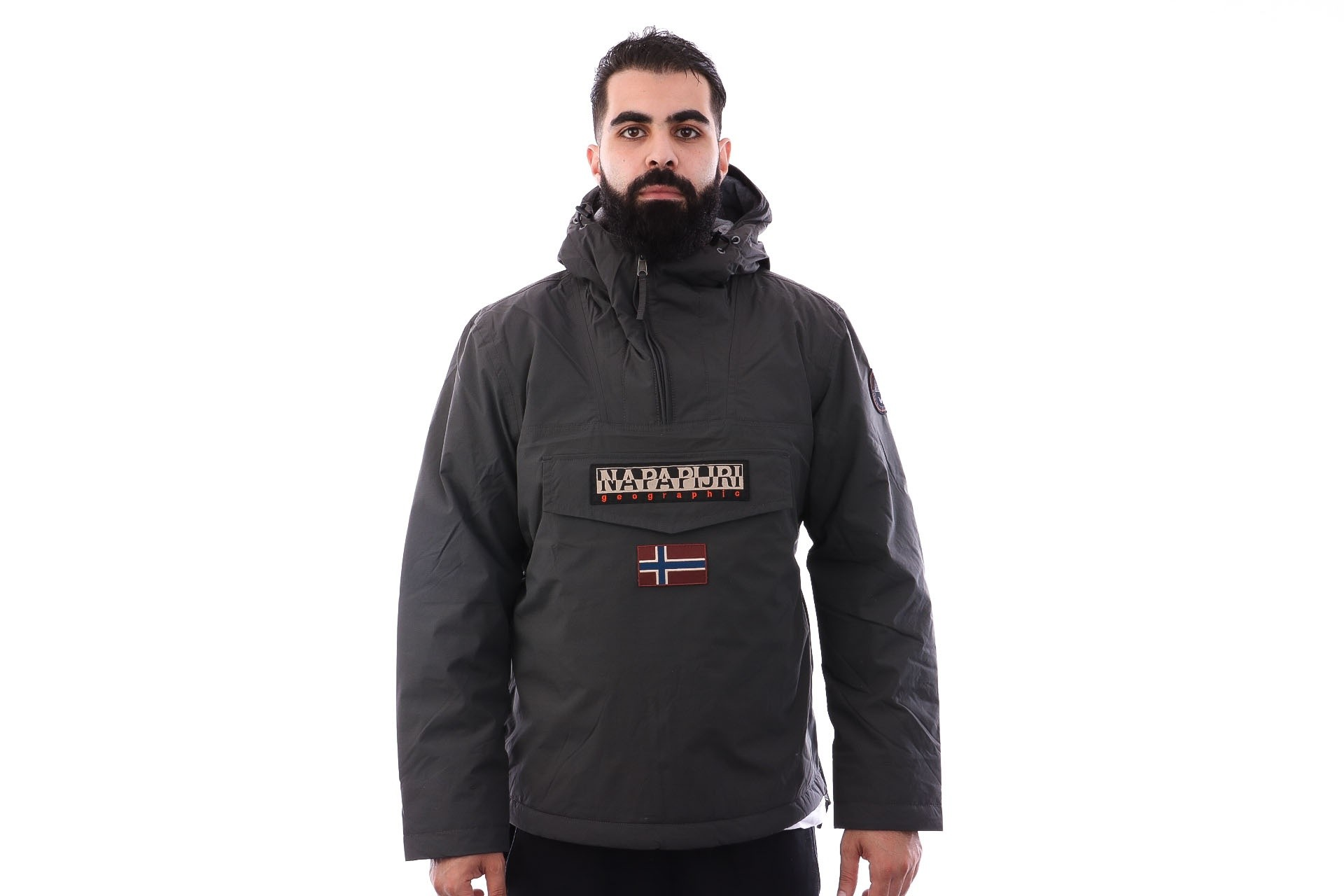 Foto van Napapijri RAINFOREST WINTER 1 N0YGNJ198 Jas DARK GREY SOLID