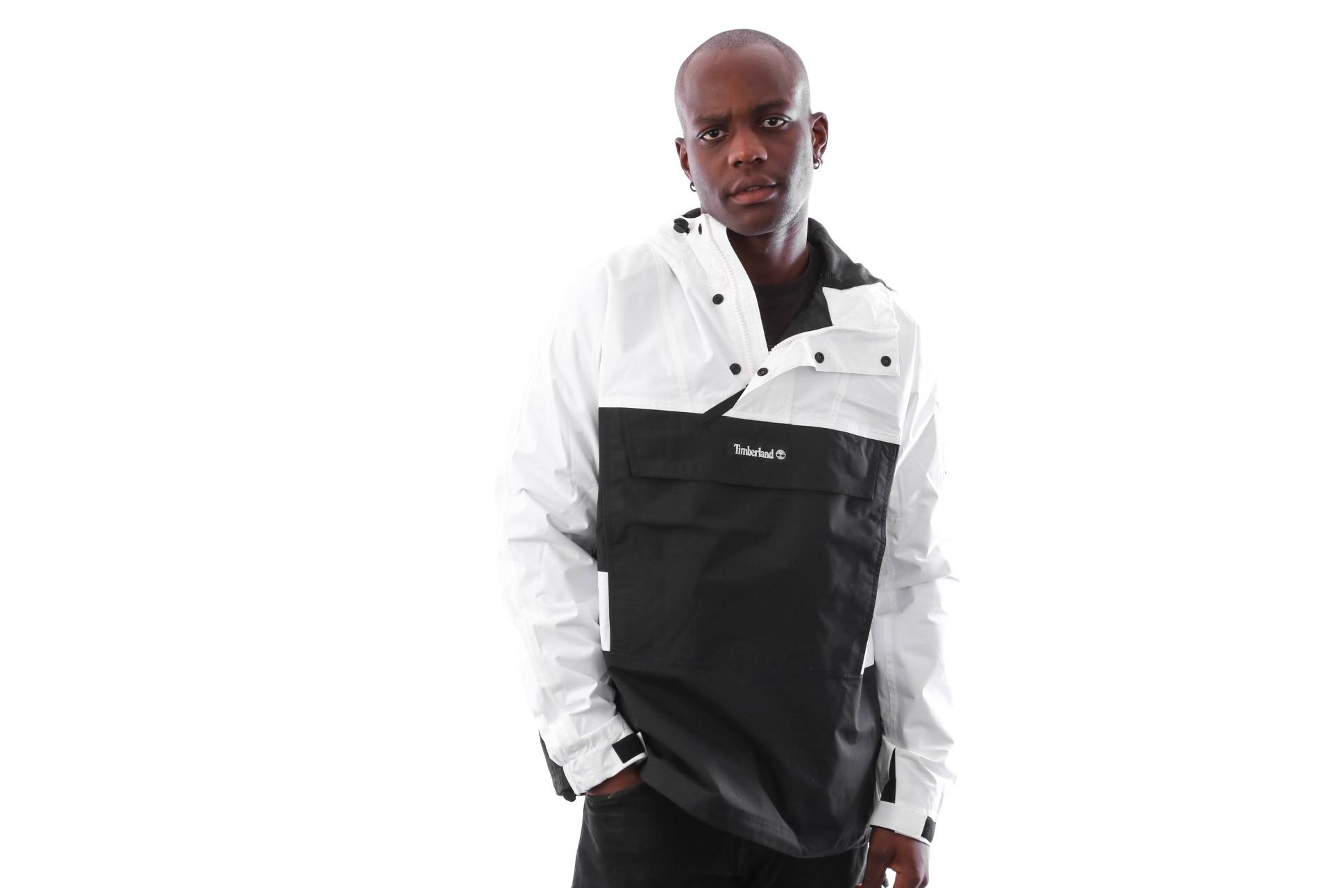 Foto van Timberland SLS Hooded pullover TB0A1N8B0011 Jas Black / White