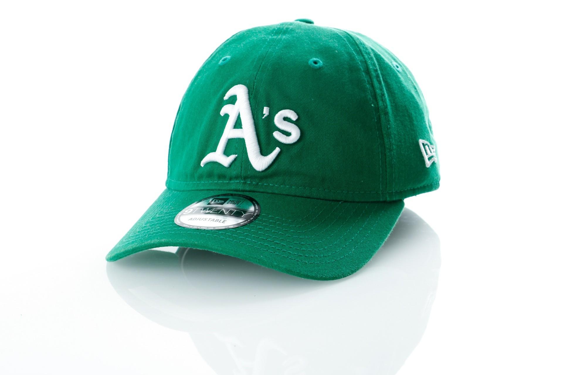 Foto van New Era WASHED TEAM 9TWENTY OAKLAND ATHLETICS 80636084 dad cap OFFICAL TEAM COLOUR MLB