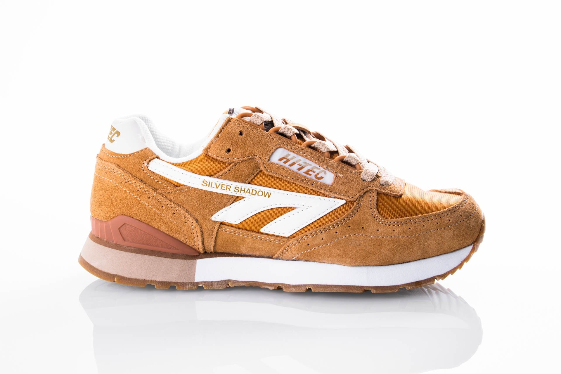 Afbeelding van Hi-Tec SILVER SHADOW O006911 / 041 Sneakers Wood/White/Oxford/Tan
