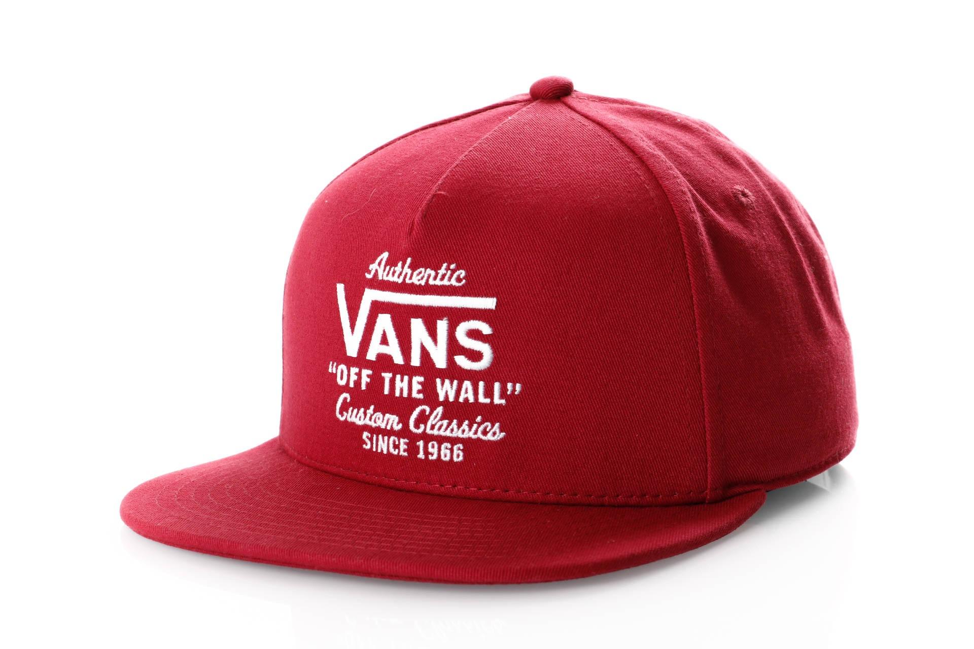 Foto van Vans WABASH SNAPBACK VN0A36I8TD2 Snapback cap RHUMBA RED