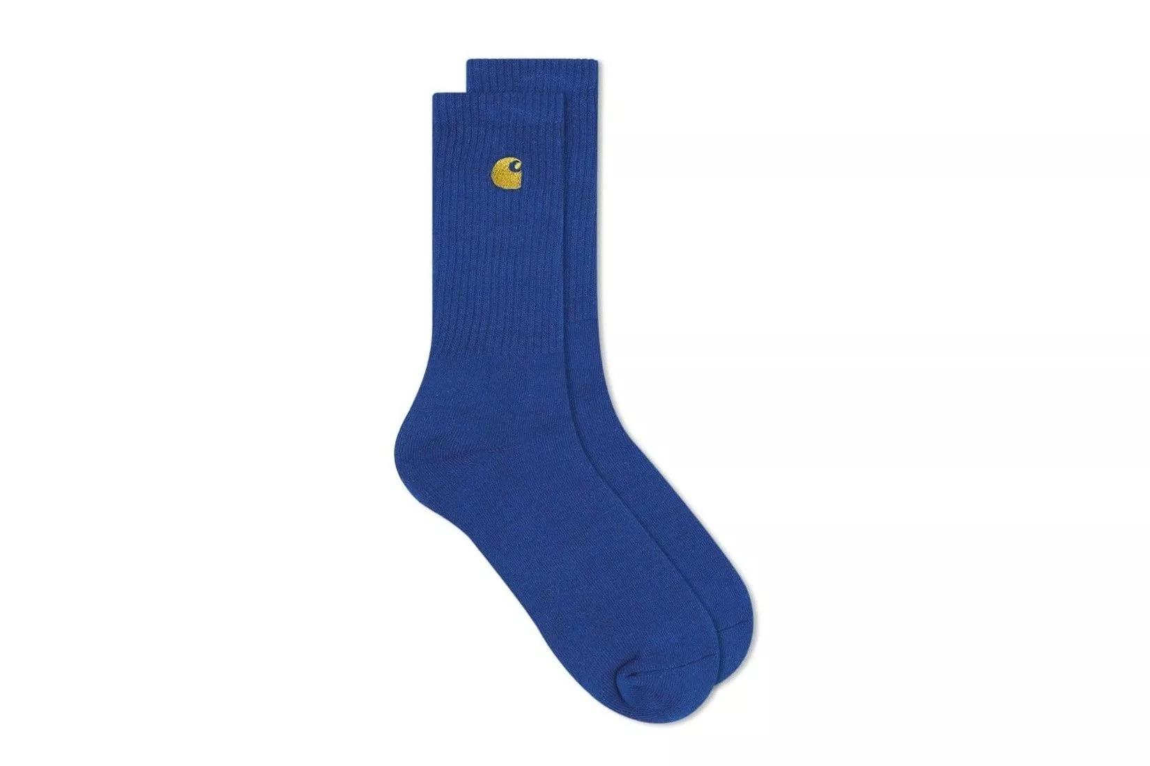 Foto van Carhartt WIP Chase Socks I026527 Sokken Submarina / Gold