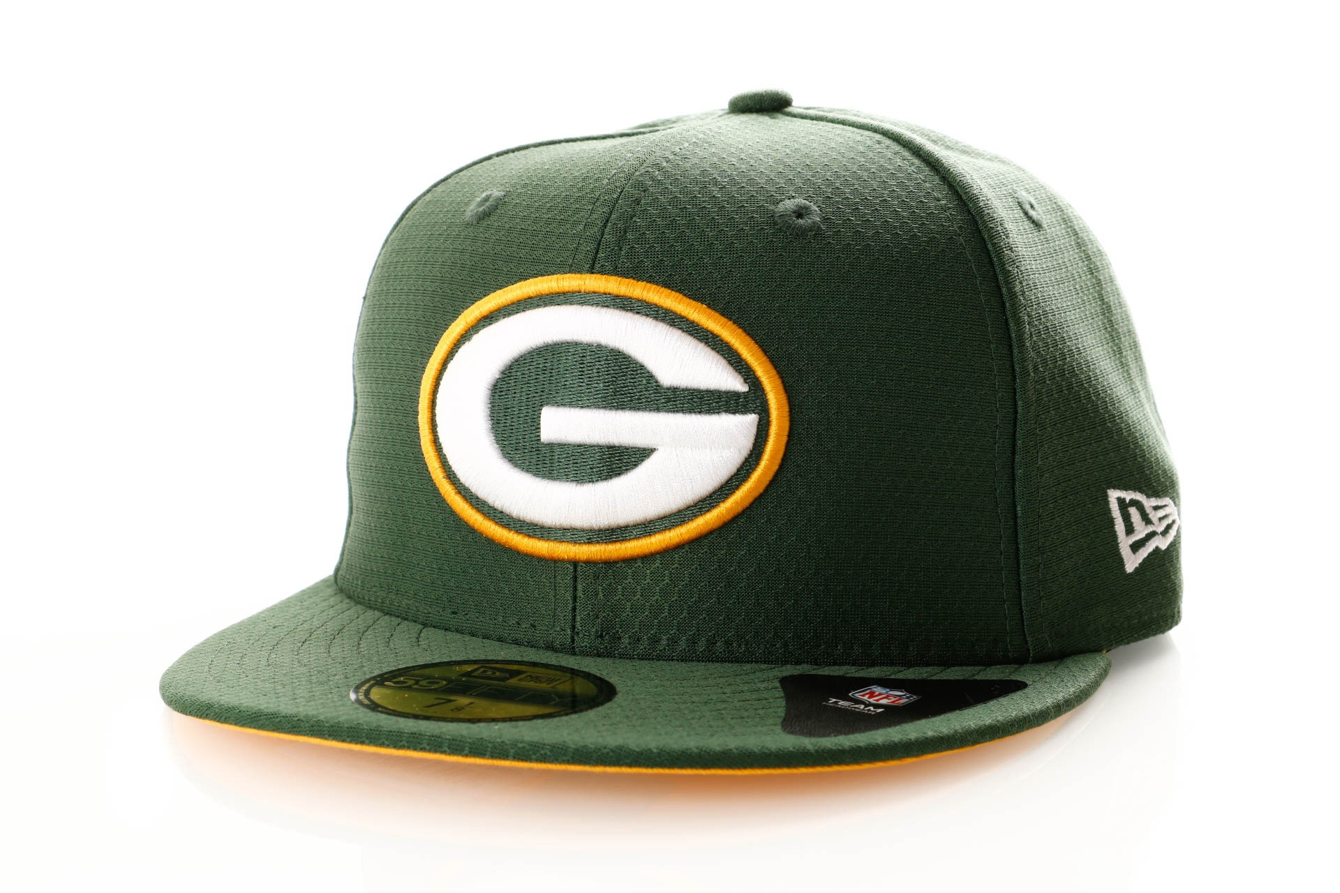 Foto van New Era Hex Era 11945704 Fitted Cap Team Colour Green Bay Packers