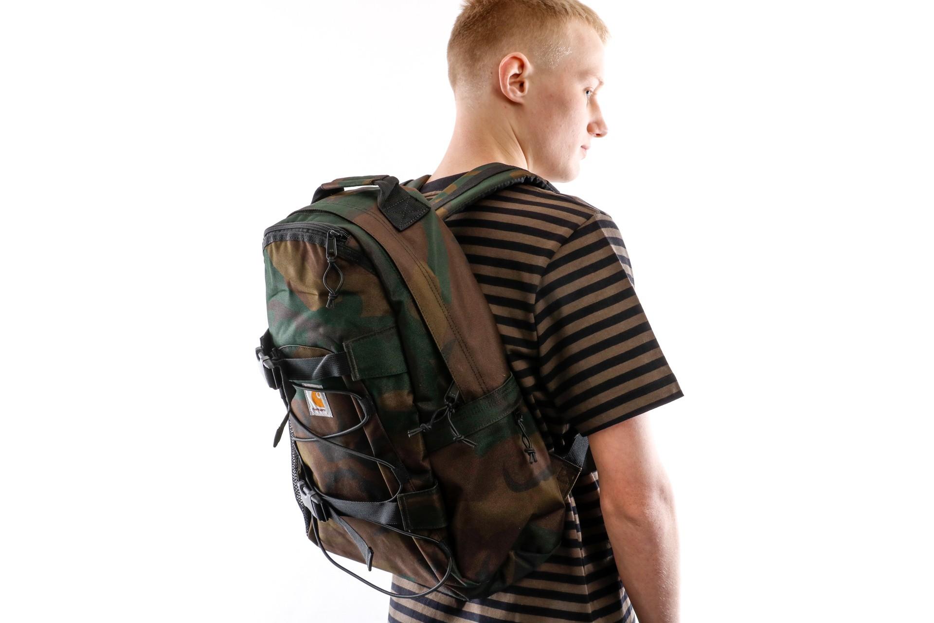 Foto van Carhartt WIP Rugtas Kickflip Backpack Camo Evergreen I006288