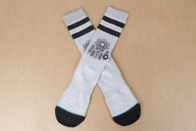 Afbeelding van Stance M556D16PEA-GRY Socks Peaceful Grijs