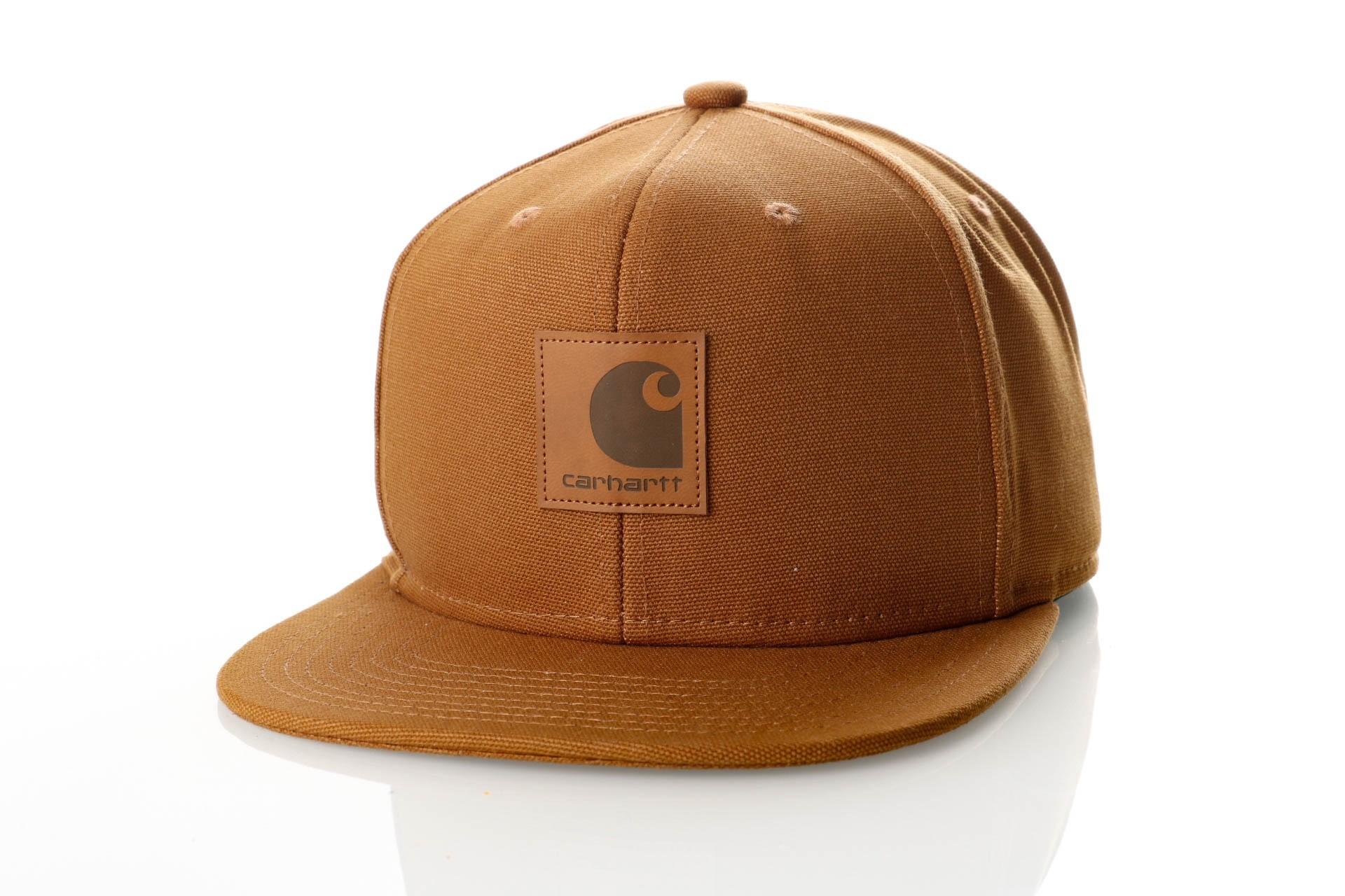 Foto van Carhartt WIP Logo Cap I023099 Snapback cap Hamilton Brown