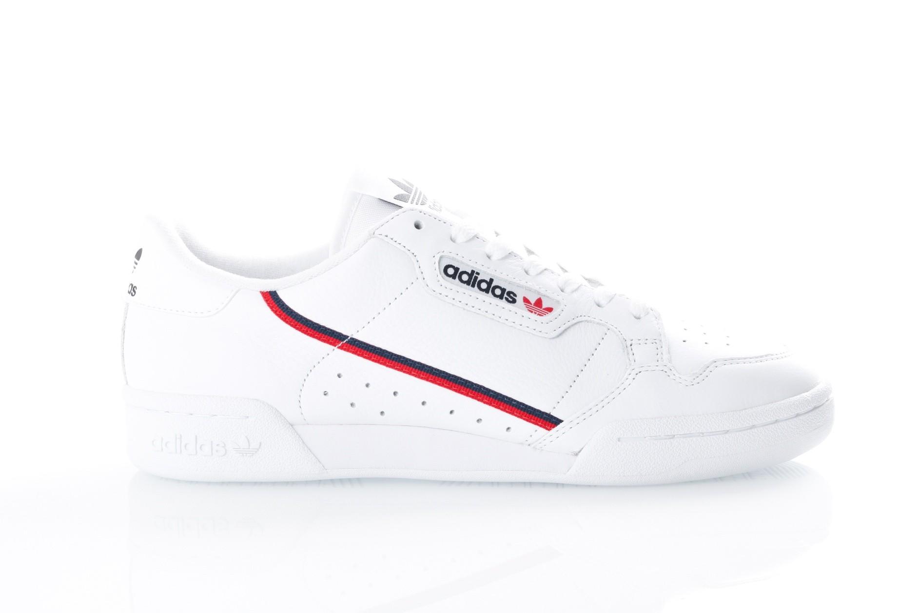 newest 7ddf6 e0c24 Afbeelding van Adidas Continental 80 B41674 Sneakers FTWR  WHITESCARLETCOLLEGIATE NAVY