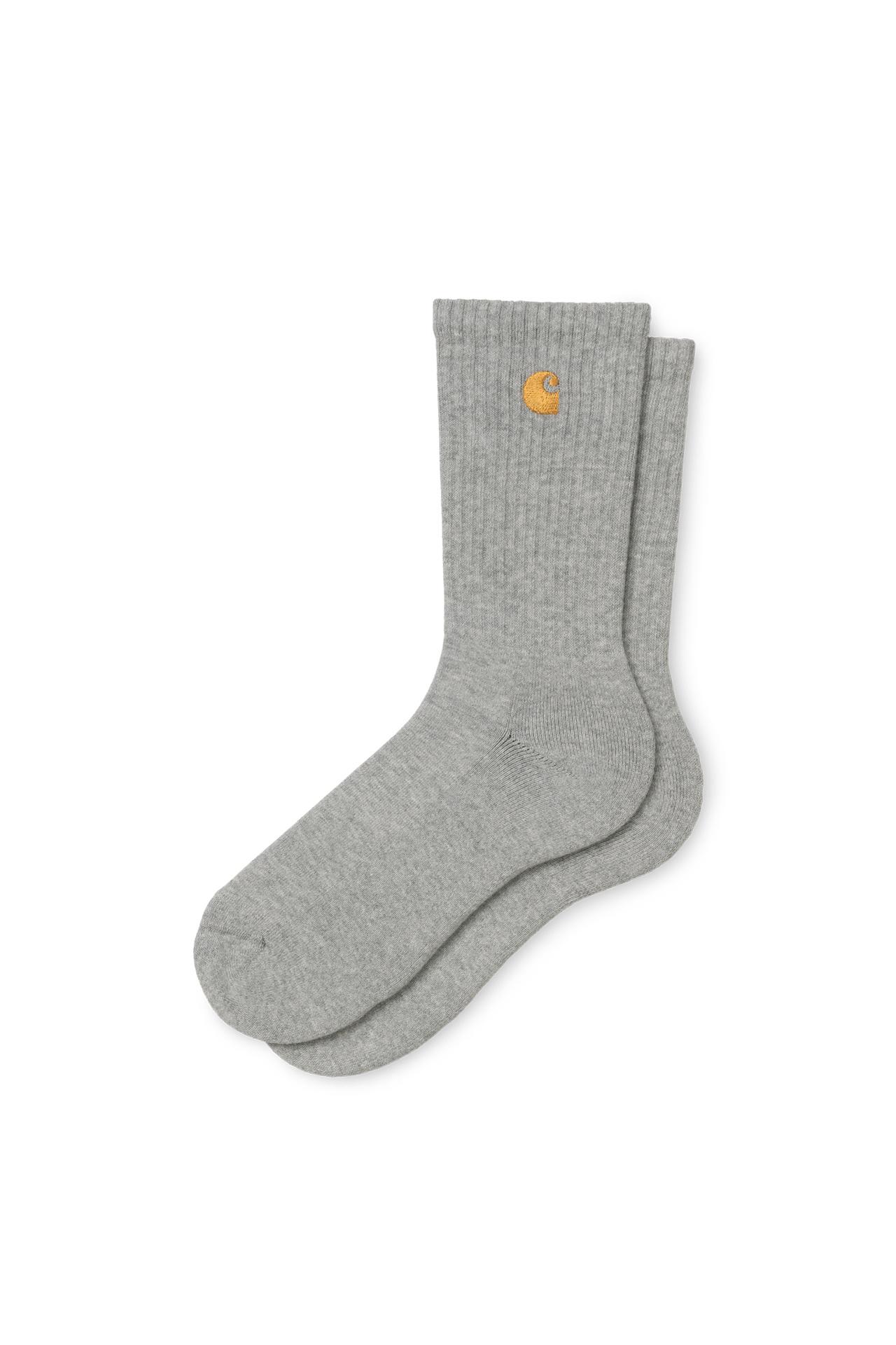 Foto van Carhartt Sokken Chase Socks Grey Heather / Gold I026527