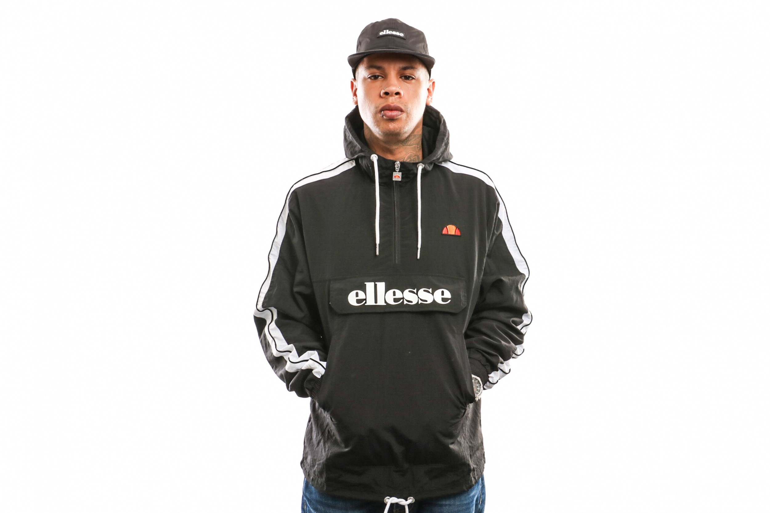 Foto van Ellesse Fighter Shb06836 Jacket Black