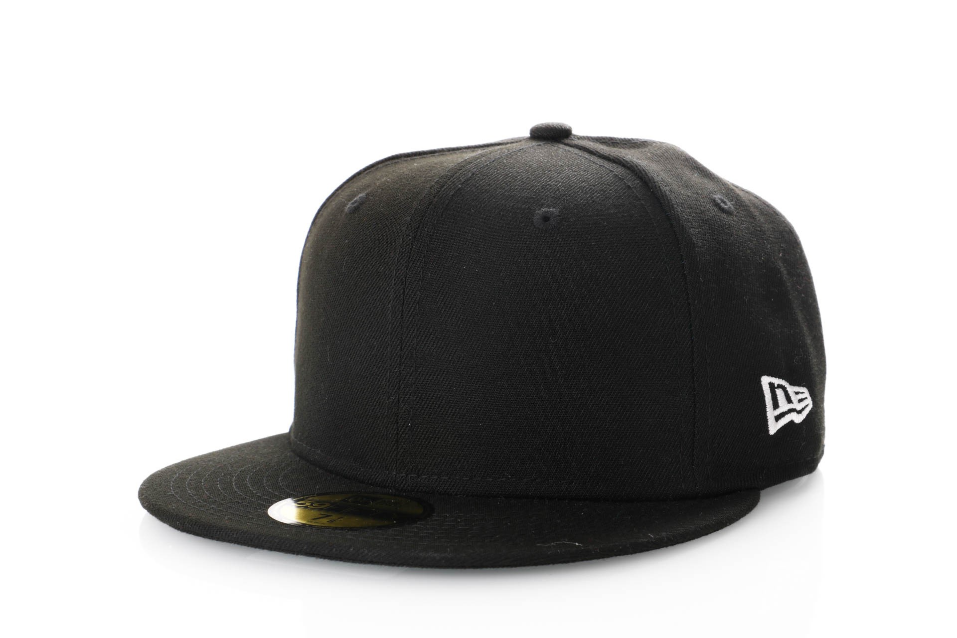 Foto van New Era Ne Side 59Fifty 11871367 Fitted Cap Black/Optic White