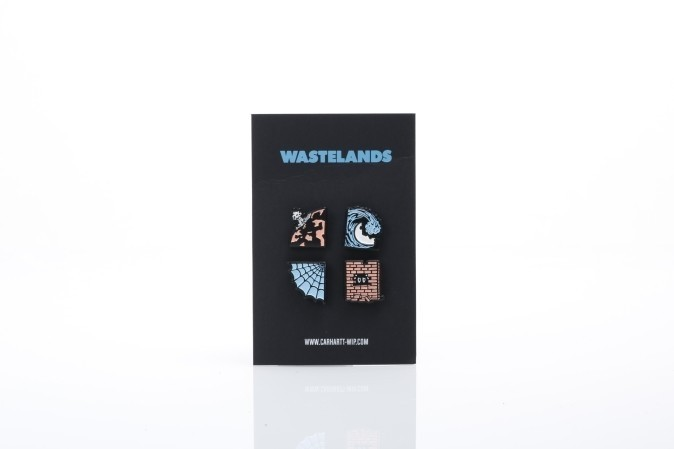 Afbeelding van Carhartt WIP I024346-0800 Pins Wasteland Multicolor