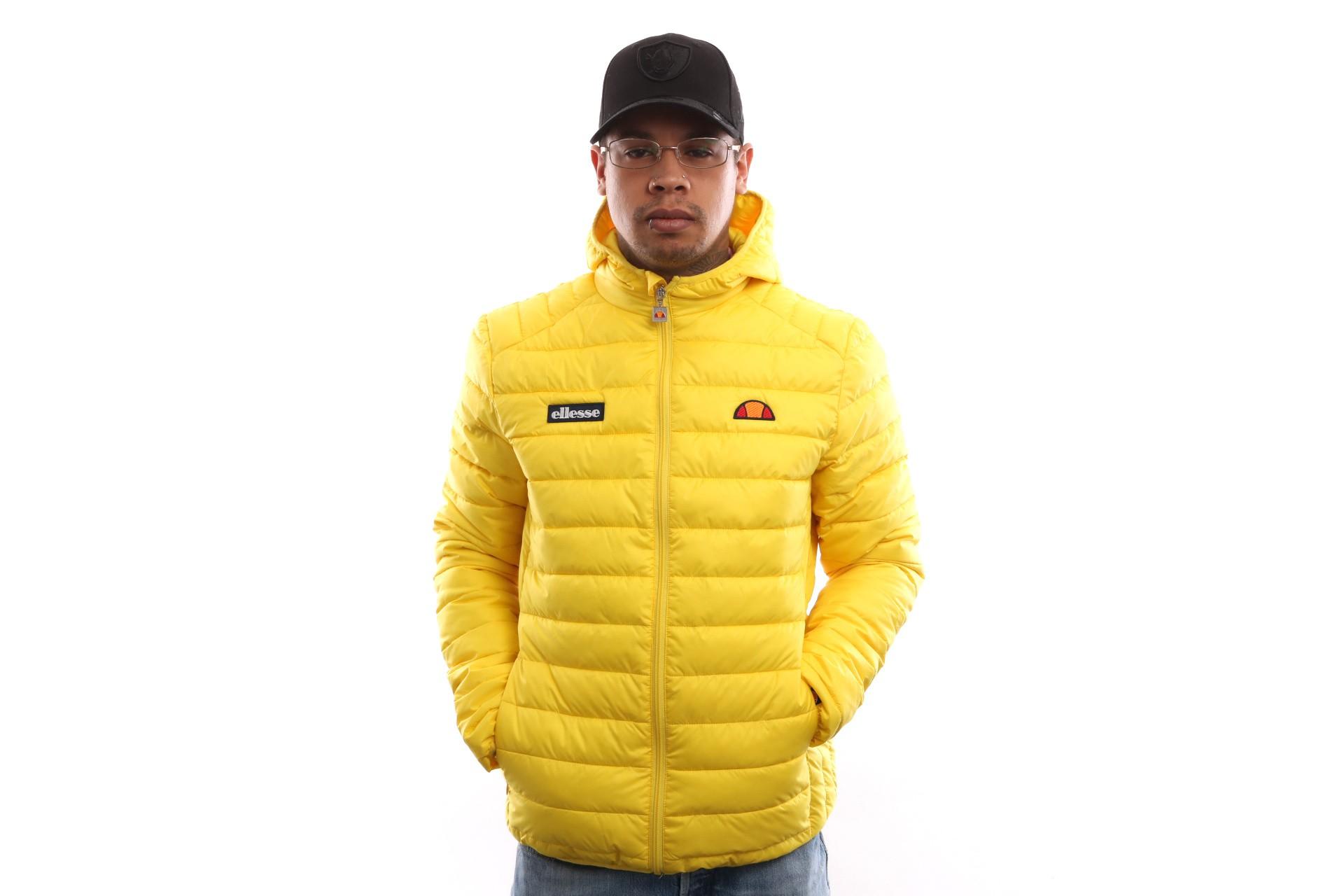 Foto van Ellesse Lombardy Sha01115 Jacket Yellow