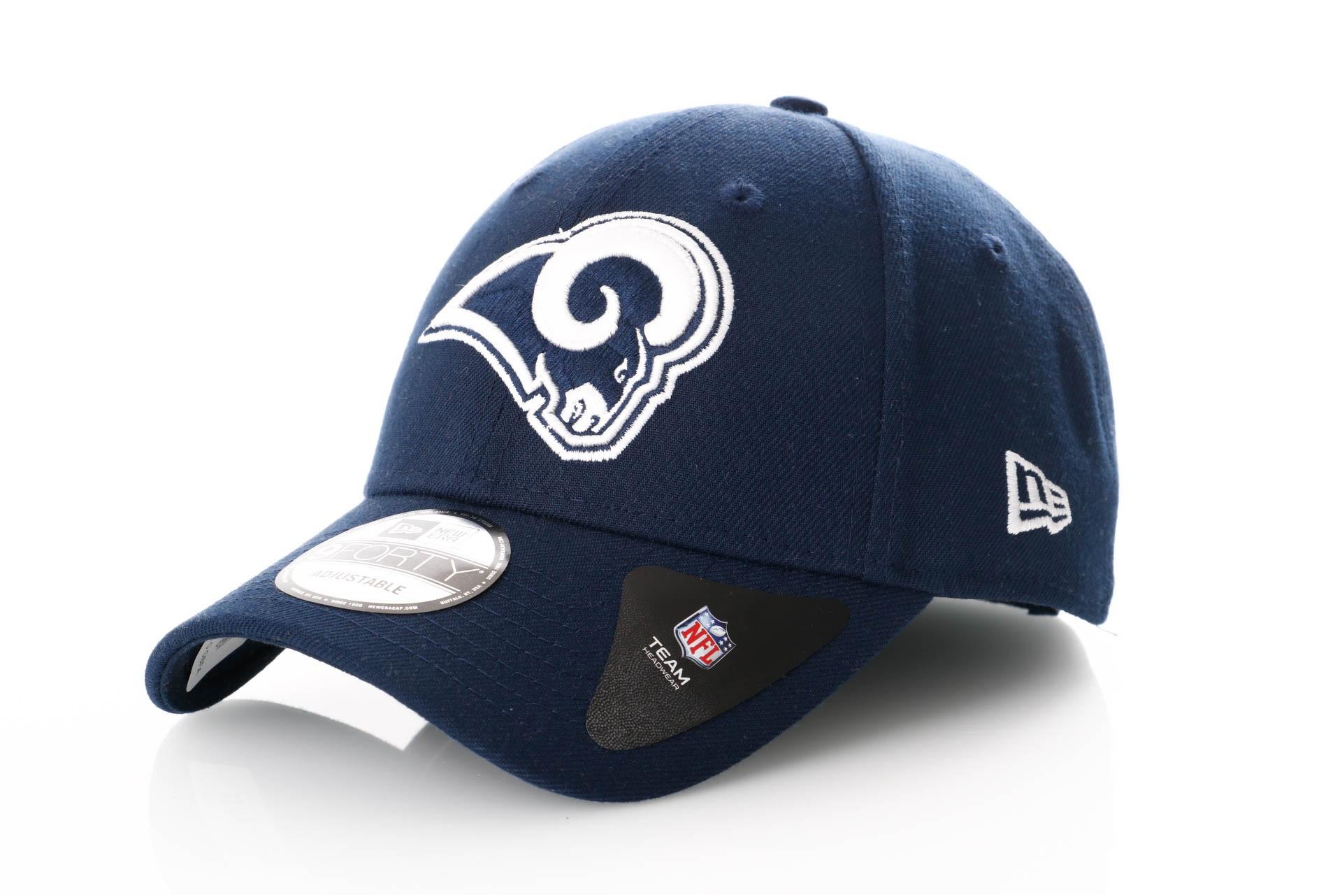 Foto van New Era Nfl The League Los Angeles Rams 11344501 Dad Cap Official Team Colour Nfl