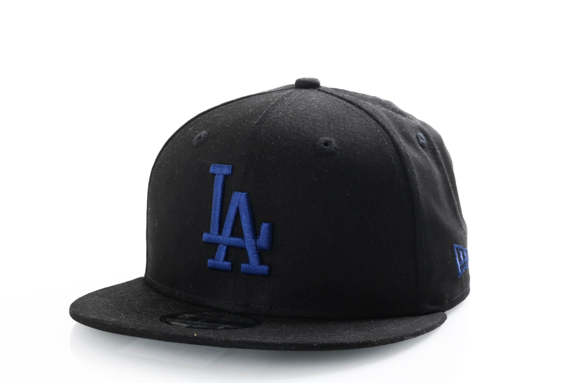 Afbeelding van New Era 9Fifty 11871432 Snapback Cap Black/Dark Royal Los Angeles Dodgers