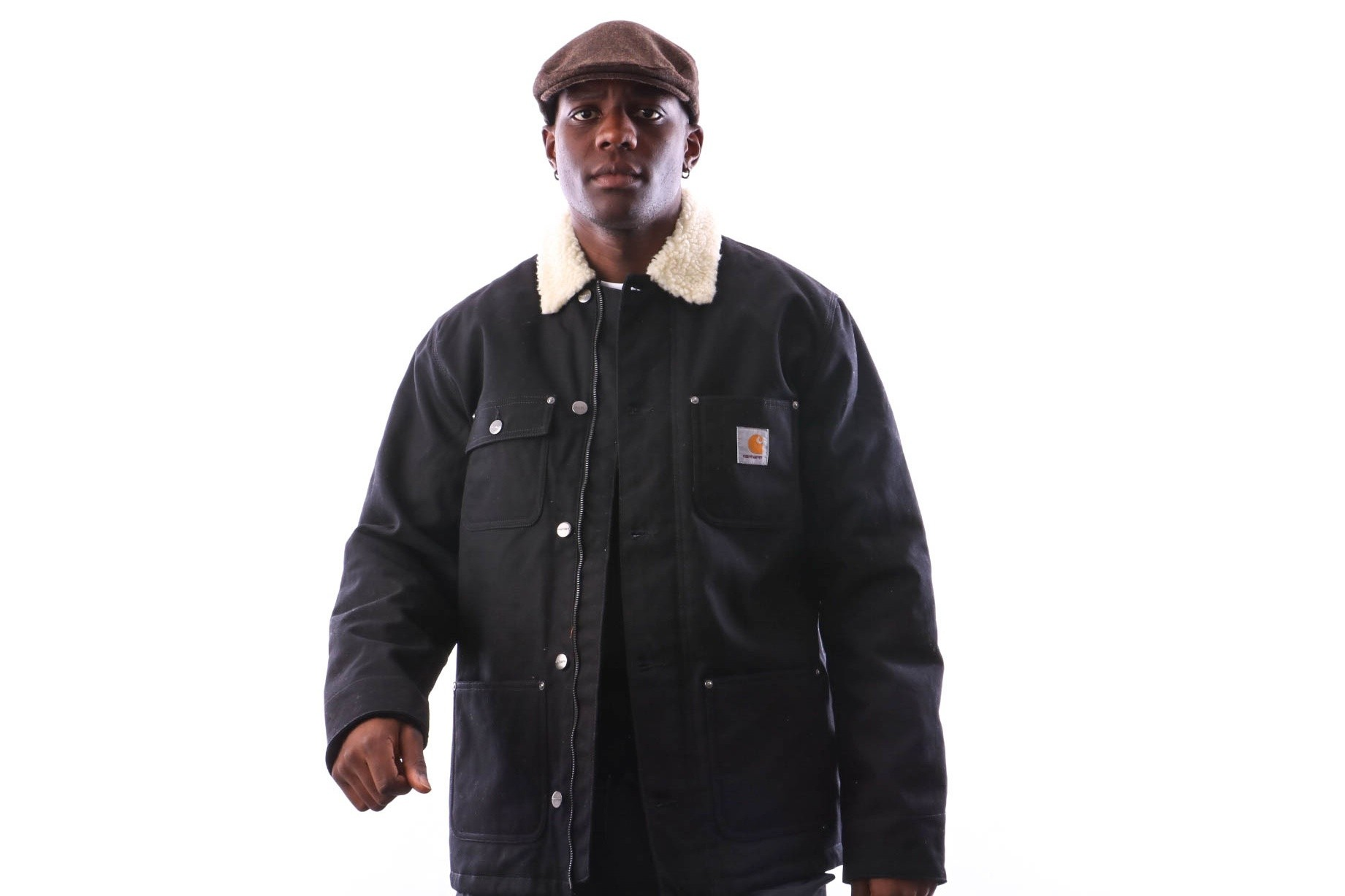Foto van Carhartt WIP Fairmount Coat I025444 Jackets Black