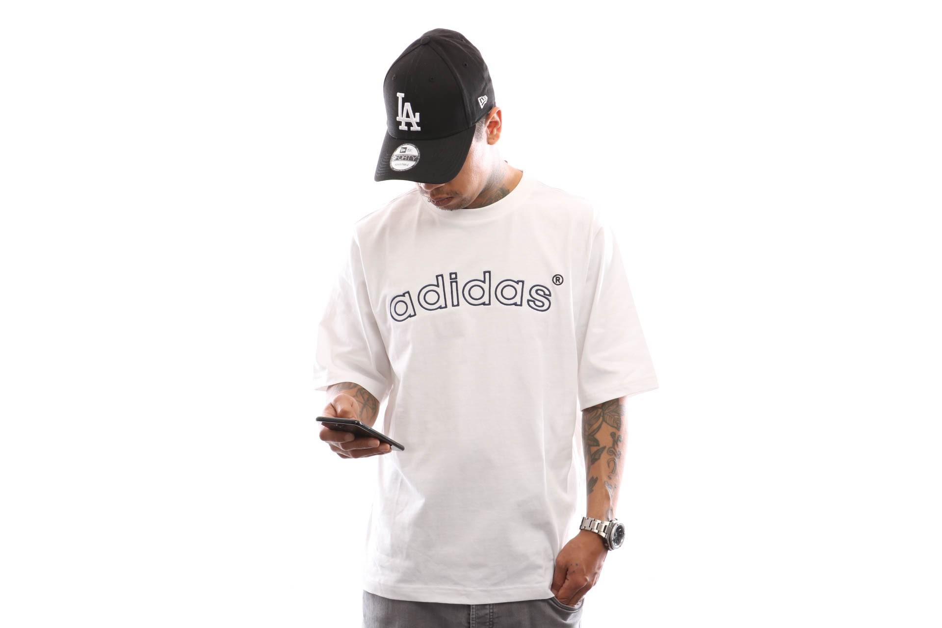 Foto van Adidas Arc Ss Tee Fh7909 T Shirt White