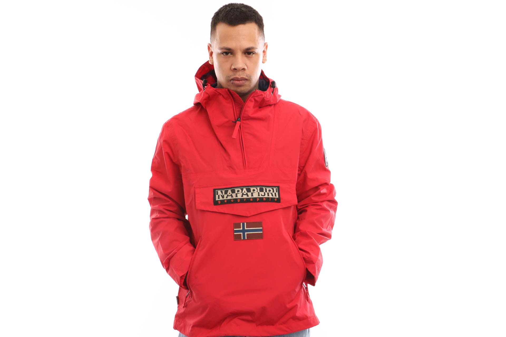 Foto van Napapijri Rainforest Pocket Summer N0YIJNR70 Jacket True Red