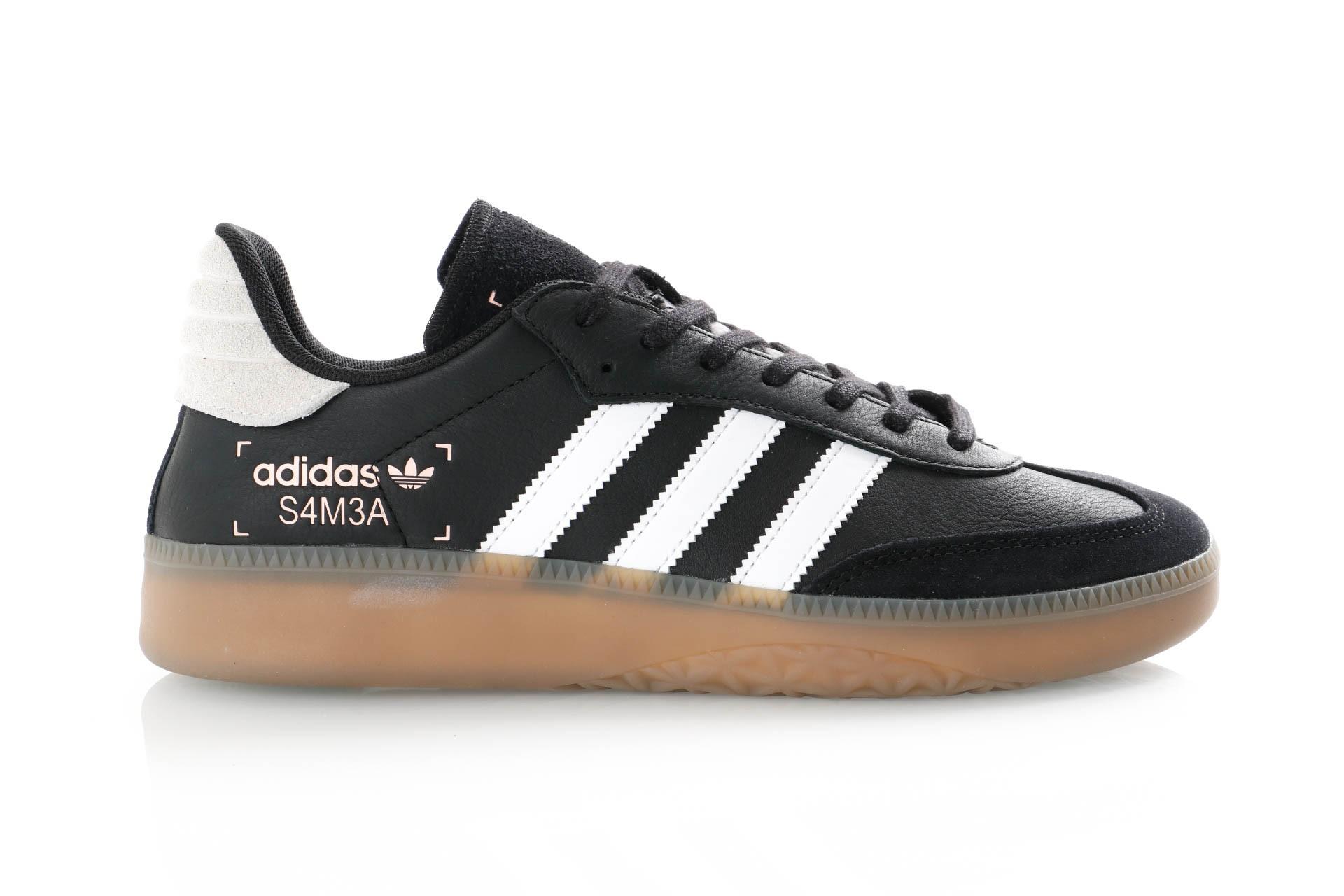 Foto van Adidas Samba Rm Bd7537 Sneakers Ftwr White/Core Black/Clear Mint