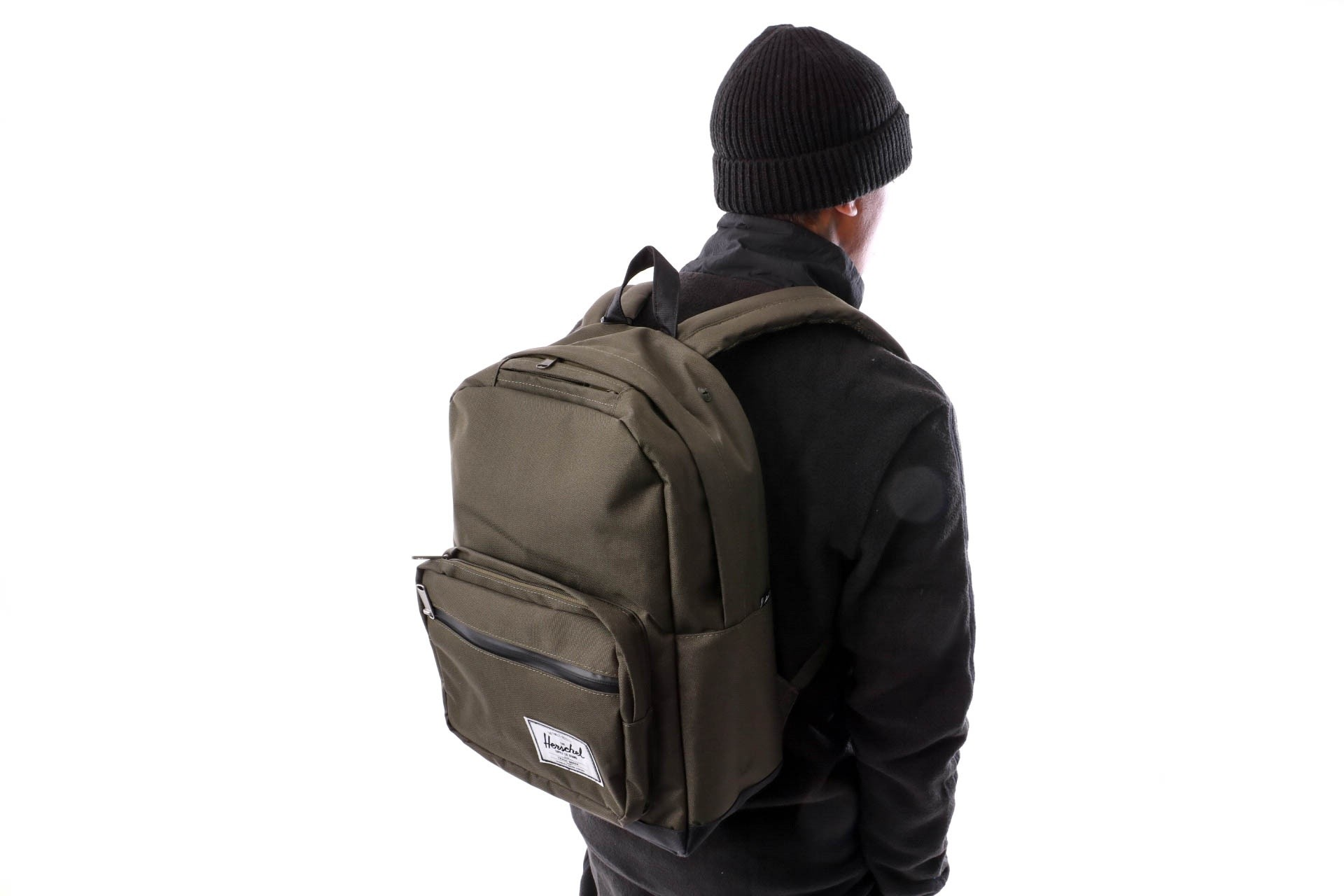 Foto van Herschel Supply Pop Quiz 10011-01572-OS Rugzak Forest Night/Black