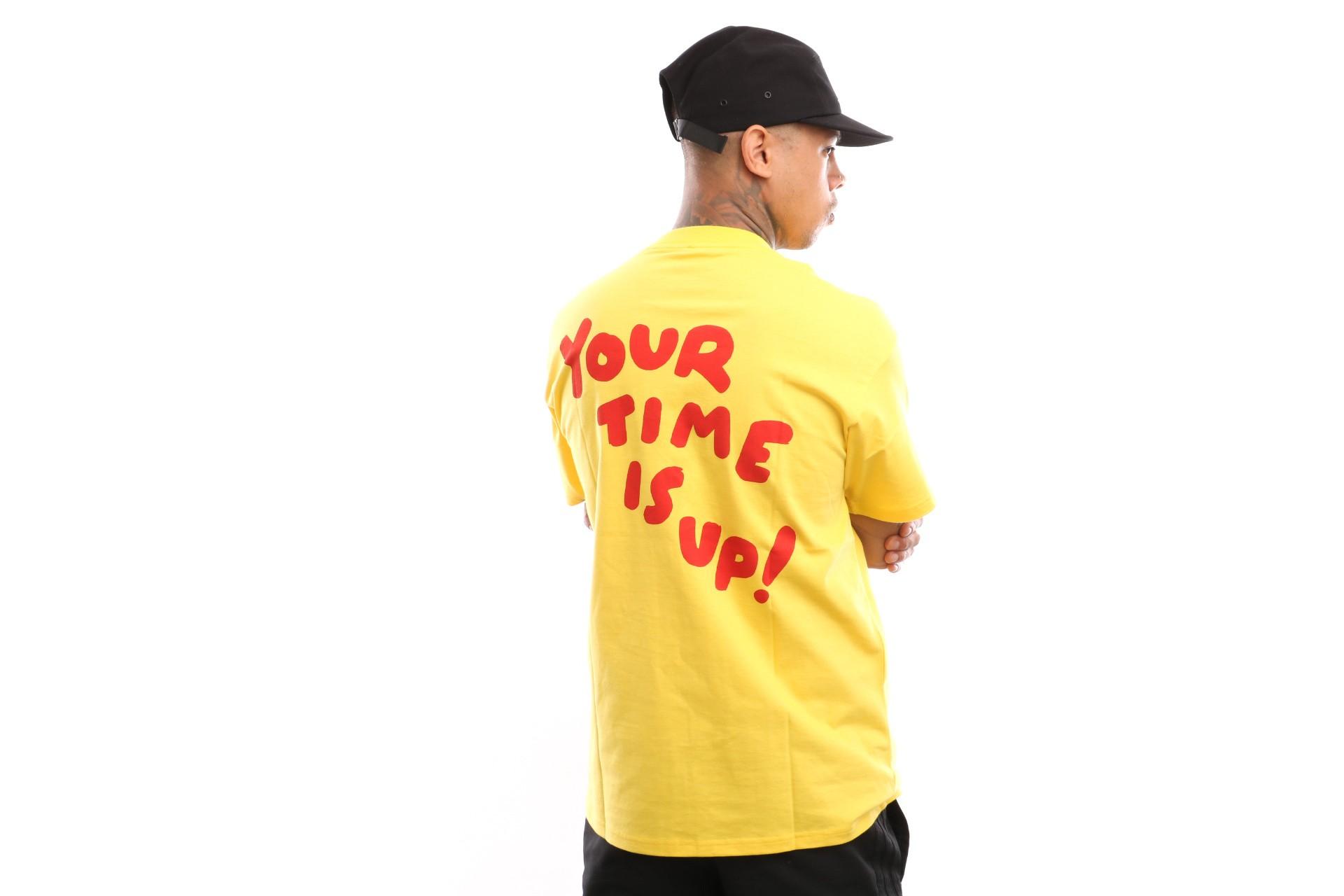 Foto van Carhartt WIP S/S Time Is Up T-Shirt I026428 T shirt Primula