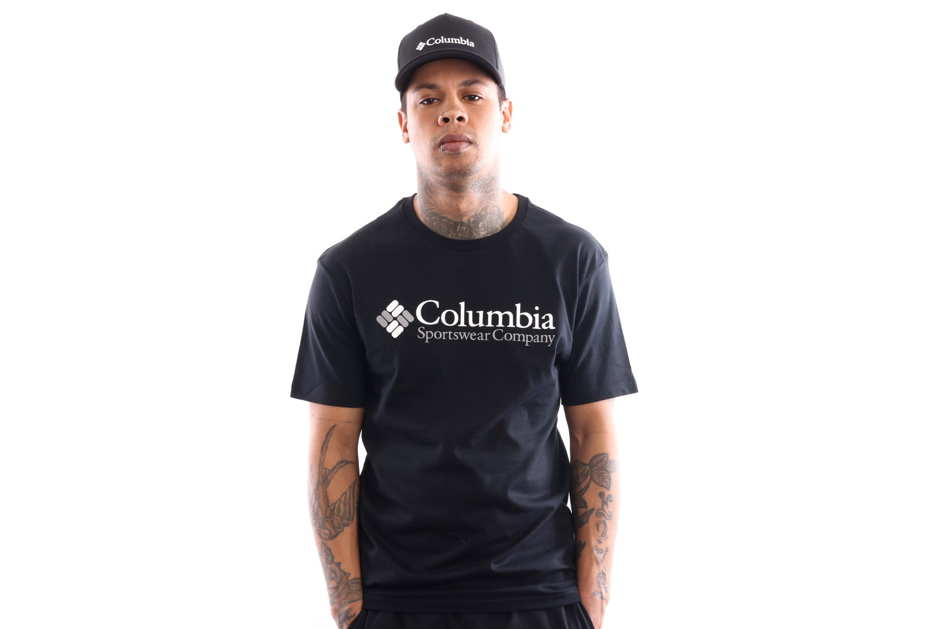 Foto van Columbia North Cascades Tee 1834041010 T Shirt Black
