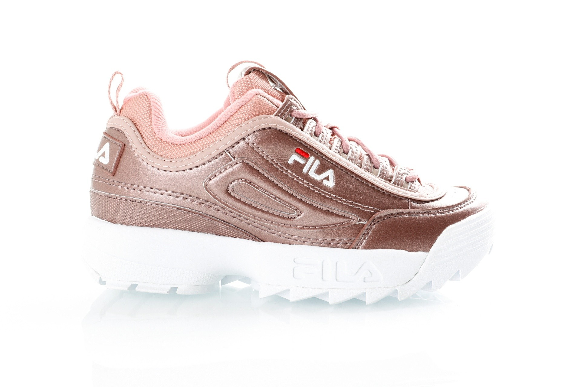 Foto van Fila Disruptor MM low wmn 1010442 Sneakers ash rosegold