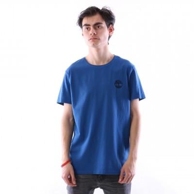 Afbeelding van Timberland CA1N3B-M68 T-shirt Tee with stacked tree Blauw