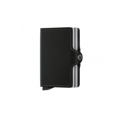 Secrid TO-BLACK Wallet Twinwallet original Zwart