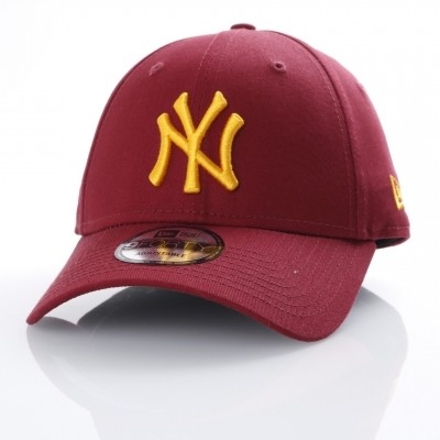 Afbeelding van New Era 80536629 Dad cap League essential 940 NY Yankees Bruin