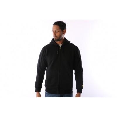 Carhartt WIP I015898-8990 Hooded zip Chase Zwart