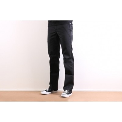 Afbeelding van Dickies Workwear WP873-BK Chino Slim straight Zwart