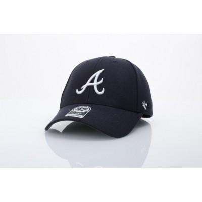 47 Brand B-MVP01WBV-RA Dad cap Mvp Atlanta Braves Blauw
