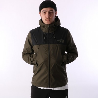 The North Face T92S51-TY1 Jacket 1990 Mountain Q Tnf Black / New Taupe Green