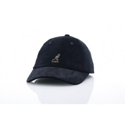 Afbeelding van Kangol K5206HT Strapback cap Cord baseball Zwart