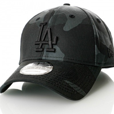 Afbeelding van New Era Camo Color 9Forty Los Angeles Dodgers 80636088 Dadcap Midnite Camo/Black Mlb