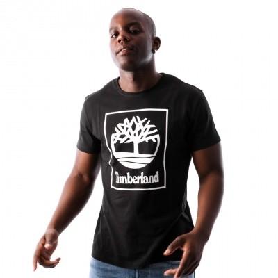Timberland SLS SS Seasonal logo tee TB0A1N8Y0011 T shirt Black