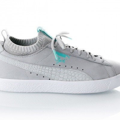 Puma Clyde Sock Lo DIAMOND 365653 sneakers glacier gray-glacier gray