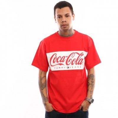 Afbeelding van Tommy Hilfiger TJM Tommy X Coca Cola Tee DM0DM06692 T shirt Coca Cola