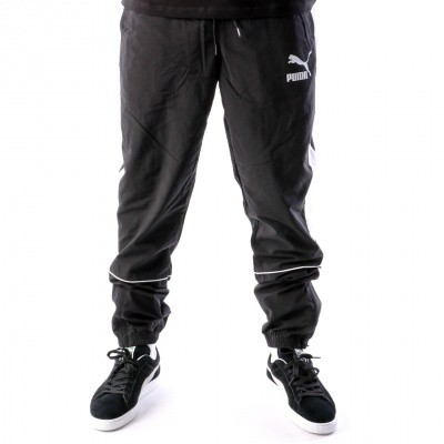 Puma Retro Woven Pants 576377 Track Pant Black-White