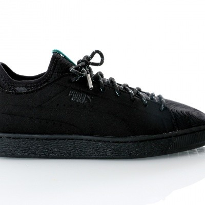 Afbeelding van Puma Basket Sock Lo DIAMOND 366431 sneakers puma black