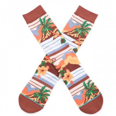 Afbeelding van Stance Kekaha M546A19KEK sokken Brown
