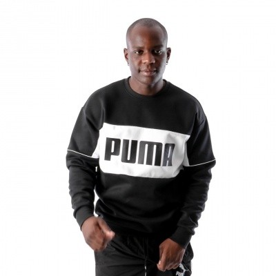 Afbeelding van Puma Retro Crew DK 576836 Crewneck Black White