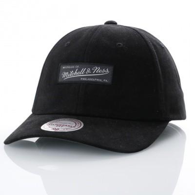 Afbeelding van Mitchell & Ness INTL135 Strapback cap Haze Mitchell & Ness Zwart