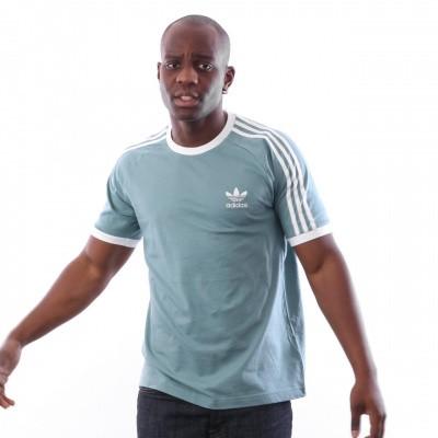 Afbeelding van Adidas 3-STRIPES TEE DV1566 T shirt vapour steel