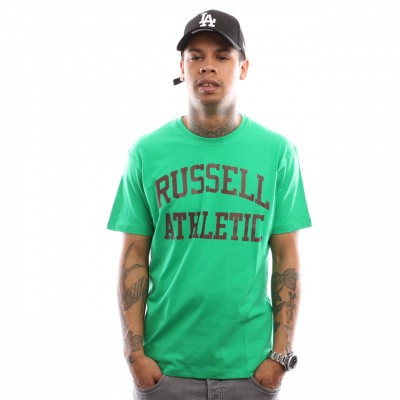 Afbeelding van Russell Athletic Iconic Short Sleeve A9-002-1 T shirt Wild Lime