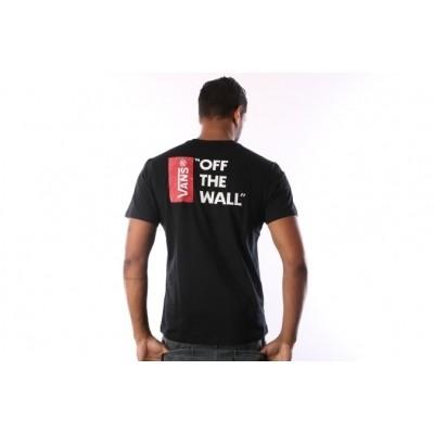 Afbeelding van Vans V5Y0-BLK T-shirt Vans off the wall III Zwart