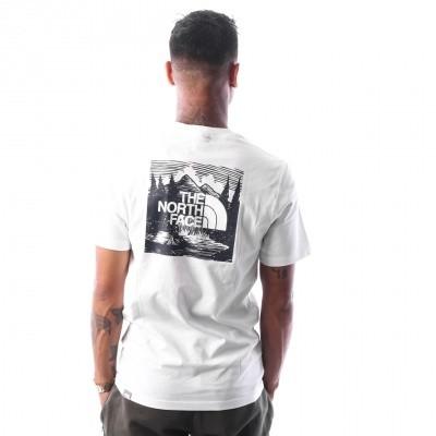 The North Face M S/S RED BOX TEE T92TX2JBR T shirt URBAN NAVY / VINTAGE WHITE