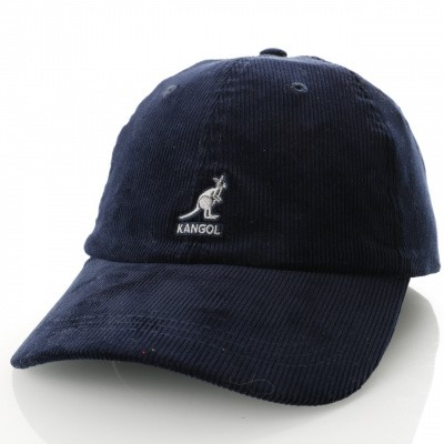 Afbeelding van Kangol Cord Baseball K5206HT Dad cap navy