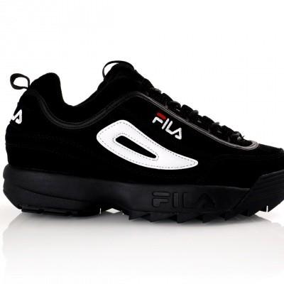 Afbeelding van Fila Disruptor S low 1010490 Sneakers black/black